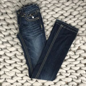 Express Re Rock Barely Boot Jeans Sz 00L